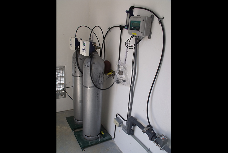 Chlor-Scale 150   150 lb Chlorine Cylinder Scales