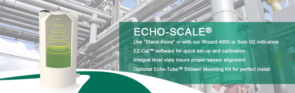 Echo Scale | Ultrasonic Chemical Monitoring | Level Sensor
