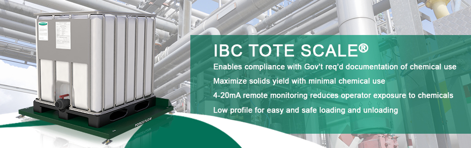 FFProduct IBC Tote Scale Wide