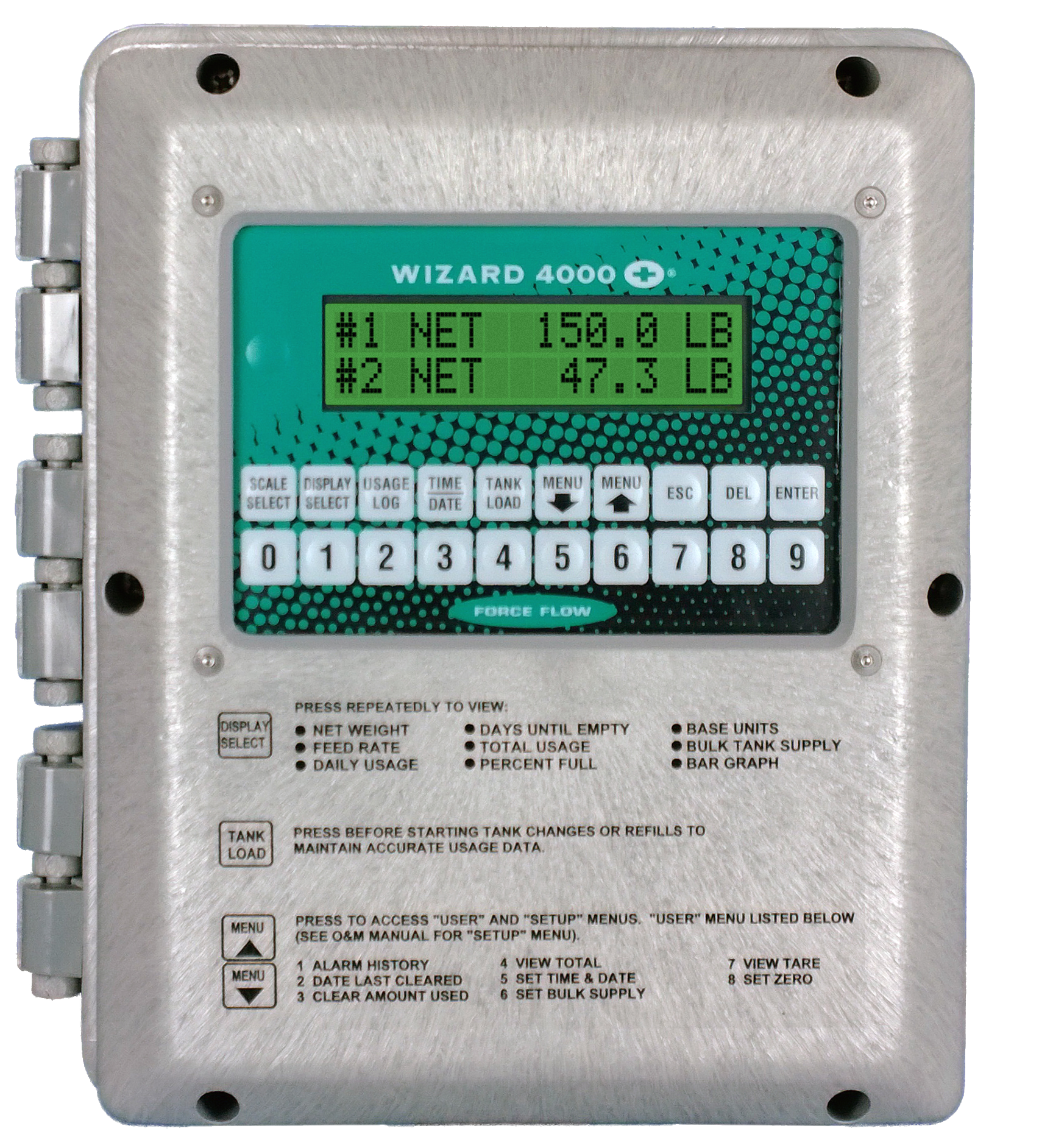 Wizard 4000 Digital Weight Indicator